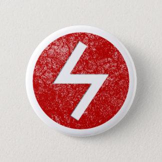 Sowilo Rune 6 Cm Round Badge