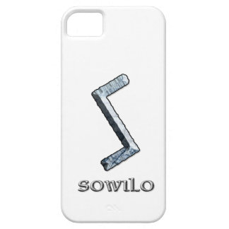 Sowilo rune symbol barely there iPhone 5 case