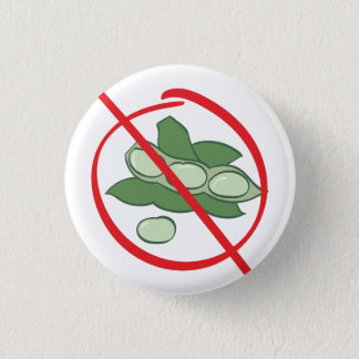 Soy Allergy 3 Cm Round Badge