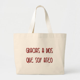 Soy Ateo Canvas Bags