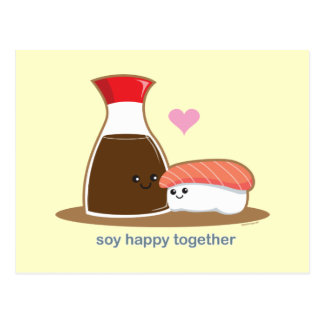 Soy Happy Together Postcard