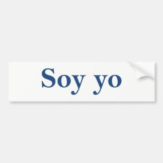Soy Yo (I am me) Bumper Sticker