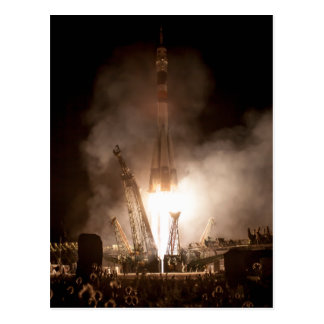 Soyuz Launch Postcard
