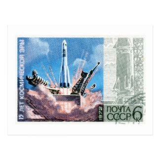 Soyuz Rocket Postcard
