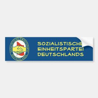 Sozialistische Einheitspartei Deutschlands Bumper Sticker