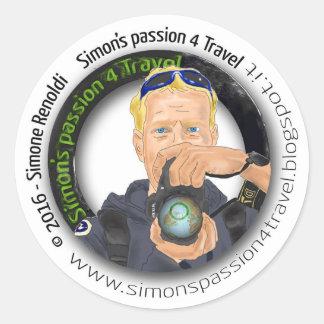 Sp4T LOGO Round Sticker