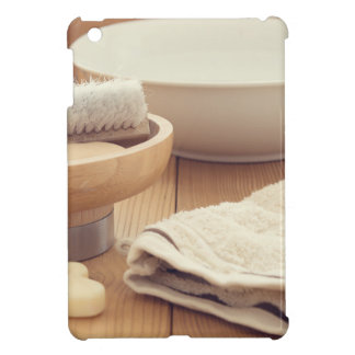 Spa and Retreat Background Case For The iPad Mini