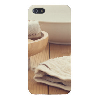 Spa and Retreat Background iPhone 5 Cases