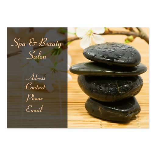 Spa&Beauty Salon Business Card