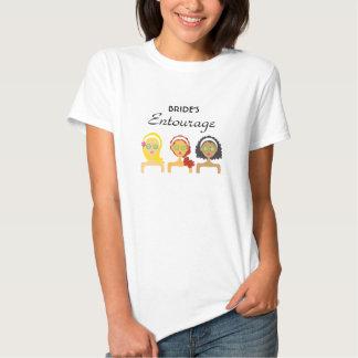 Spa Bride Entourage T-Shirt