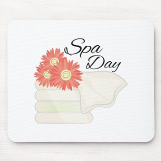 Spa Day Mouse Pad