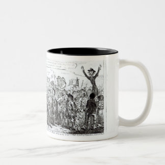 Spa Fields Orator Hunt-ing for Popularity Two-Tone Coffee Mug