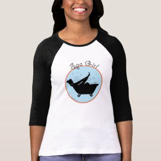 Spa Girl Bubble T Tee Shirts