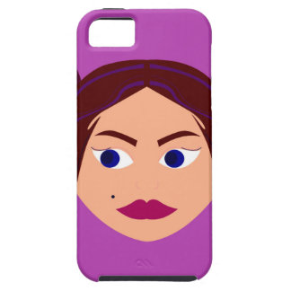 Spa Goodness pink design Tough iPhone 5 Case