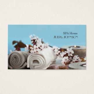 Spa House Massage Relax Beauty Salon Business Card