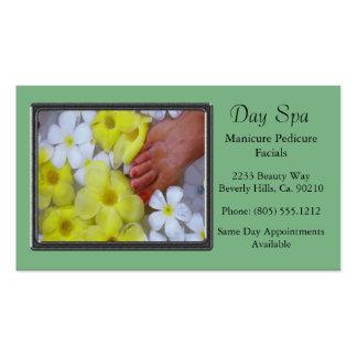 Spa Luxury Pedicure Manicure Business Cards