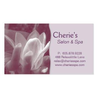 Spa - Nail Salon Manicure Lilac Business Card