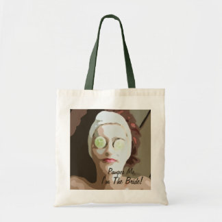 Spa Pamper The Bride Tote Bag