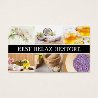 Spa & Relaxation Center Rest Relax Restore Card