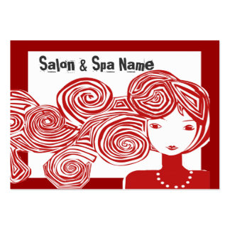 Spa Salon Fantasy Classic Designer Pack Of Chubby Business Cards