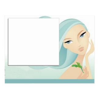 Spa Salon postcard