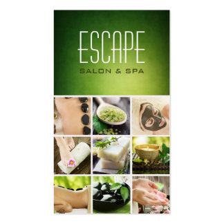 Spa Salon Sauna Banya Beauty Nails Business Card Standard Business Cards