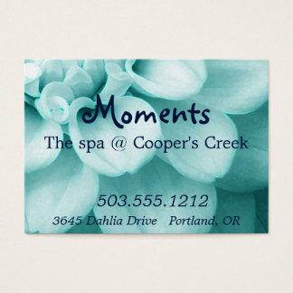 Spa Sample Business Card