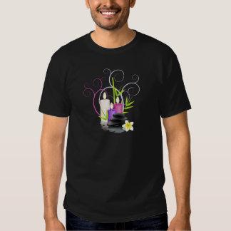Spa theme tee shirts
