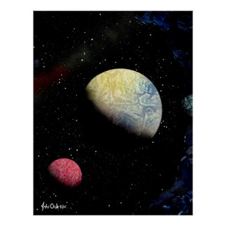 SPACE 21 (large) ~ Poster