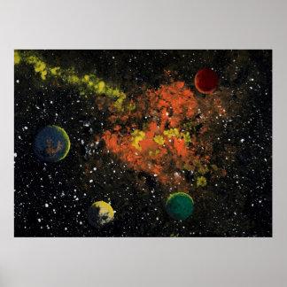 SPACE 3 v.2 (large) ~ Poster