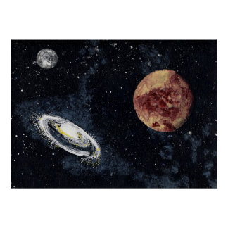 SPACE 4 v.2 (large) ~ Poster