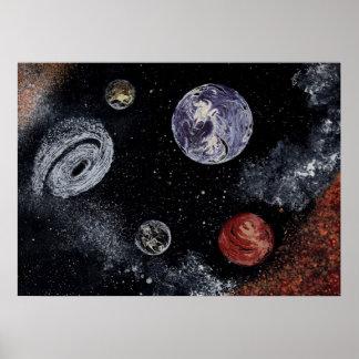 SPACE 5 v.2 (large) ~ Poster