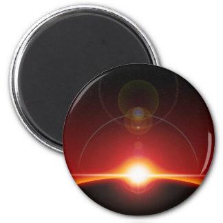 Space 6 Cm Round Magnet
