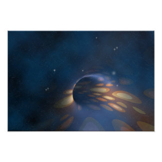 Space Abstract Poster