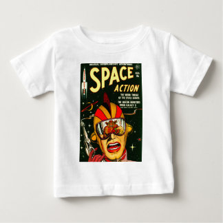 Space Action: Eek!  A Monster! Baby T-Shirt
