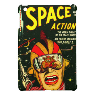 Space Action: Eek!  A Monster! Cover For The iPad Mini