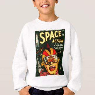 Space Action: Eek!  A Monster! Sweatshirt
