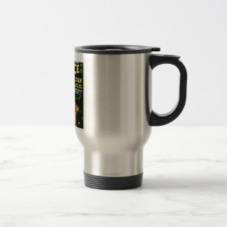 Space Action: Eek!  A Monster! Travel Mug