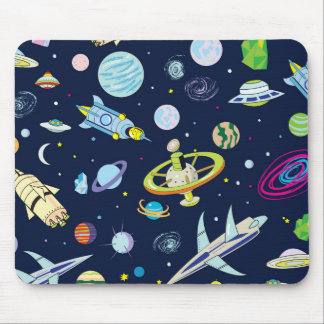 Space Adventure Mouse Pad