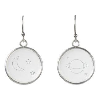 Space Aesthetic Earrings