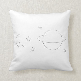 Space Aesthetic Pillow