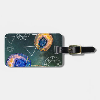 Space Agate Luggage Tag