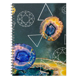 Space Agate Notebook