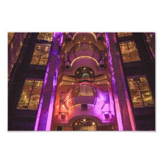Space Age Pink Purple Art Photo