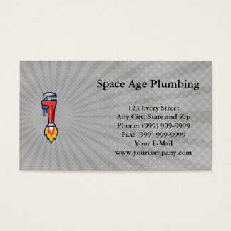 Space Age Plumbing Business card