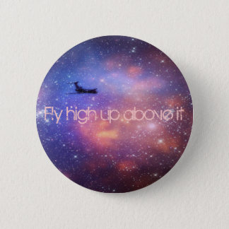 Space Airplane Button