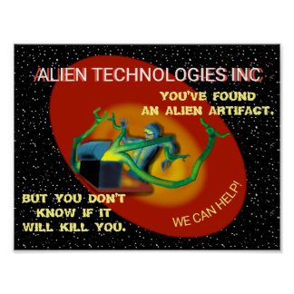 SPACE ALIEN TECHNOLOGIES INC by Jetpackcorps Poster