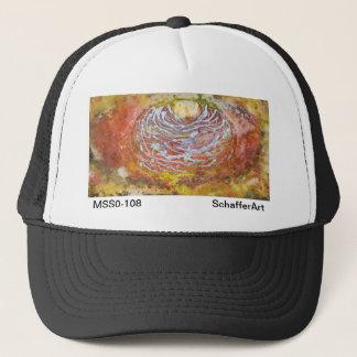 Space Art Hat by SchafferArt