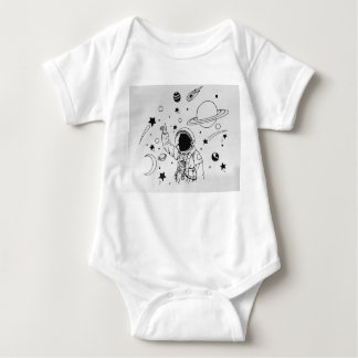 space Baby Baby Bodysuit