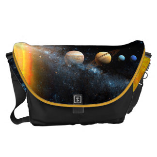 Space Bags Solar System Messenger Bag